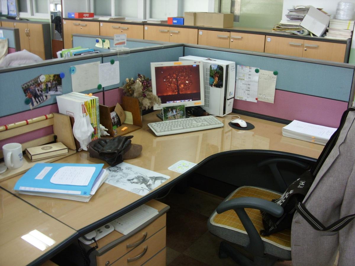 My Desk Dorian Wacquez