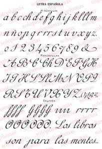 Letra Española