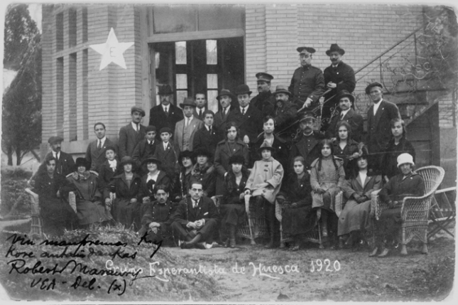 Meeting of Esperantistas: Huesca, Spain 1920